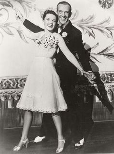 Judy Garland and Fred Astaire, promotional still for Easter Parade, 1948.