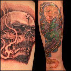 Masters Master Tattoos Ink Master Winning Tattoo Jpg Kinda Tattoos ... Chris Masters, Ink Master, Portrait, Tattoos, Tatuajes, Headshot Photography, Tattoo, Portrait Paintings, Drawings