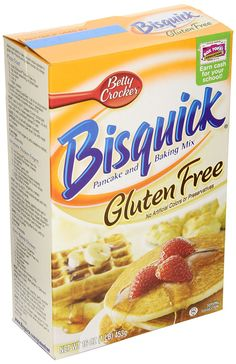 Bisquick Pancake and Baking Mix, Gluten-Free, 16 oz, 3 Count -- Read more  at the image link.