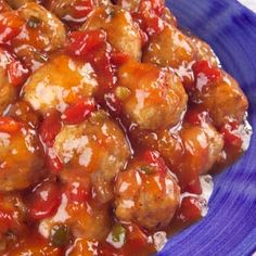 Strawberry jam and Ro*Tel® Tomatoes combine to glaze meatballs for a party snack