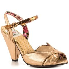 Madeline - Brown Bettie Page $59.99