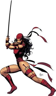 Elektra #MarvelNow #DividedWeStand
