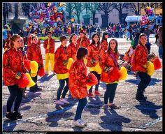 Carnevale Pinerolo 2 - photographic processing (276) - Fotografia scattata durante la sfilata dei carri di carnevale di Pinerolo - 2016