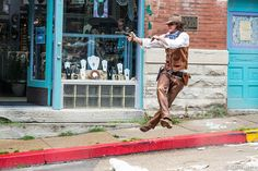 Gun Fight at Eureka Springs