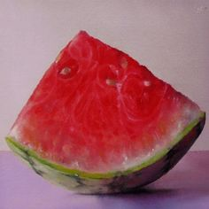 A wedge of melon