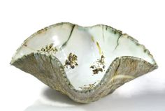 Ceramic Art Bowl  Winter Forest Handmade Pottery by PatsPottery, $115.00