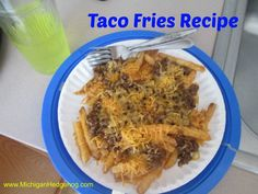 Taco french fries recipe