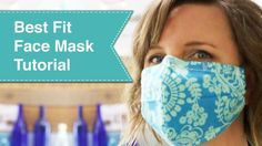 Best Fit Facemask Tutorial - Pretty Handy Girl Sewing Hacks, Sewing Tutorials, Sewing Projects, Sewing Basics, Sewing Tips, Sewing Crafts, Easy Face Masks, Best Face Mask, Do It Yourself Videos