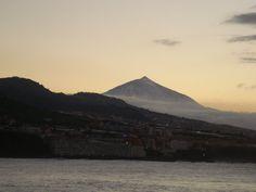 El Teide desde Punta de Hidalgo en Tenerife