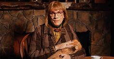 See John Malkovich play the Log Lady from 'Twin Peaks,' as part of his Playing Lynch art project.