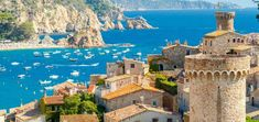 This tour takes you to visit the Girona coast, christened 100 years ago as the Costa Brava. It includes stops in Lloret de Mar & Tossa de Mar. Barcelona, Figueras, Val D Aran, International Waters, Ebro, Station Balnéaire, Sailing Trips, Sitges, Seaside Towns