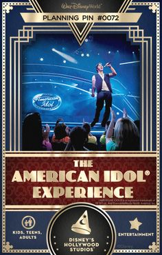 Walt Disney World Planning Pins: Could you be the next American Idol? Be a part of this exciting daily competition to find a rising star!