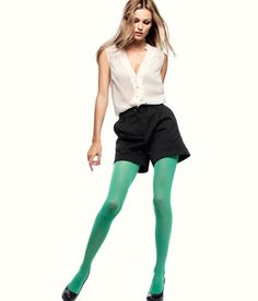 colorful tights...