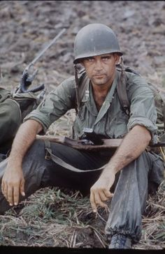 US Army Capt. Robert Bacon, 1964. Photographed by Larry Burrows. The Vietnam War Era
