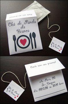 » Convite para Chá de Panela – Inspirações