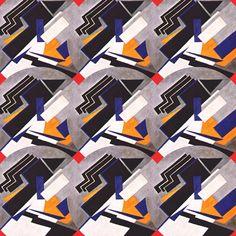 Suprematist pattern