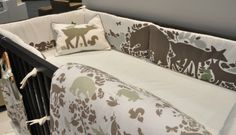 DwellStudio crib bedding! this is what scott and i picked out!!! i am so excited!!!