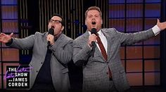 james corden into the woods - YouTube