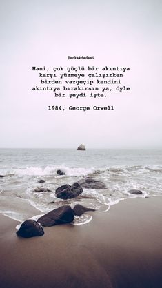 Turkish Language, Favorite Quotes, My Favorite Things, George Orwell, Oscar Wilde, Cool Words, Philosophy, Quotations, Texts