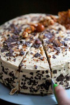 Tarta de Bailays y dulce de leche