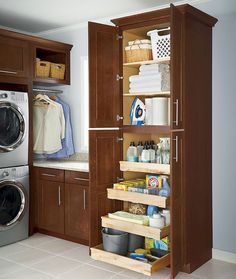 DIY Laundry Room Storage Shelves Ideas (71)
