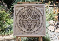 Mandalas Painting, Mandalas Drawing, Decoration, Art Decor, Boho Decor, Luxury Wedding Gifts, Picture Frame Decor, Wood Carving Patterns, Marble Art
