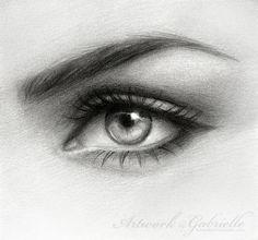 .Eye Drawing. by *gabbyd70 on deviantART