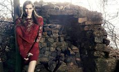 Preview | Karlie Kloss Stars in Animales Celtic Inspired Winter 14 Ads