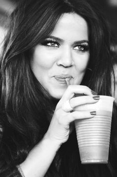 Khole Kardashian I don't know what you bizzos are talking about, she is beautiful!