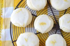 Meltaway Lemon Cookies - soft and buttery...and full of lemon flavor!