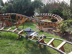 Designing a Safe Backyard Roller Coaster with Paul Gregg - Kids Ideas Backyard Toys, Backyard Trampoline, Backyard Zipline, Outdoor Fun For Kids, Backyard For Kids, Outdoor Play, Homemade Roller Coaster, Roller Coasters, Homemade Swing Set
