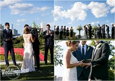 This Chicago River Roast wedding was perfection from start to finish! The outdoor wedding had a unique and fun vibe with elegant style and decor.  Photos by Heather DeCamp Photography