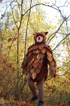 This cutie's a hoot. hyuck hyuck. {Cool Homemade Costumes!} – Modern Kiddo