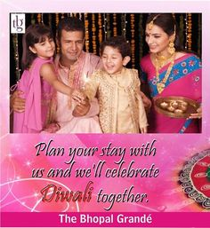 Come and stay with #thebhopalgrande to celebrate this Diwali