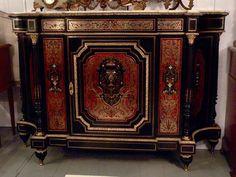 Large Buffet Marqueterie Boulle Epoque Napoléon III