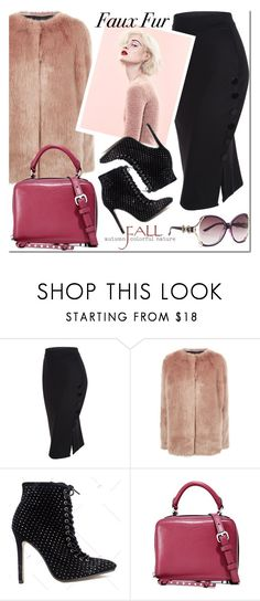 """""""Untitled #3432"""" by mada-malureanu ❤ liked on Polyvore featuring Pinko, Marc and Rebecca Minkoff"""