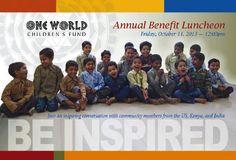 Postcard for One World Children's Fund