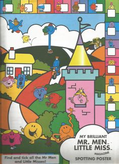 Mr. Men Little Miss Magazine - Beefeater Special Issue - Page 6