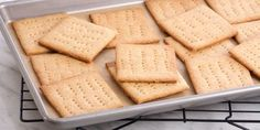 Honey Graham Crackers - Anna Olson - Food Network Canada