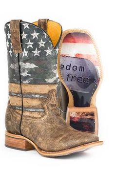 Tin Haul Freedom Cowboy Boots Urban Freedom isn't free