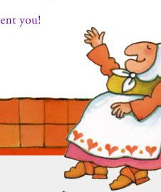 Tomie dePaola is another favorite illustrator. I have a signed copy of his Mother Goose and more. He is such a nice man.
