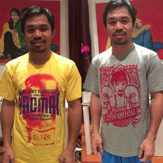 「Purchase these t-shirts at Team Pacquiao stores in Manila and Gensan. Godbless everyone!❤️❤️❤️」
