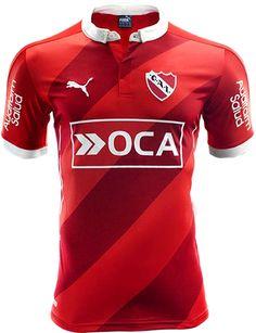 Puma divulga nova camisa titular do Independiente da Argentina - Show de Camisas