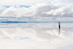 The salt flats of Bolivia. I've traveled through them twice, and each time was mind-boggling. The silence rang. 10 Amazing Natural Phenomena - Gap Year
