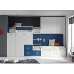 Bunk bed 49 and wardrobe
