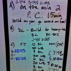 Invictus CrossFit WOD