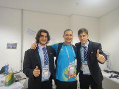 Arif, eu e Raphael