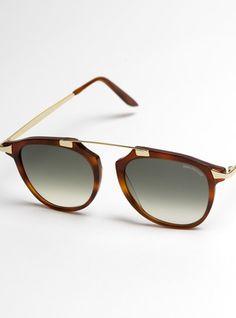 Fashion Flare Sunglasses in Honey Tortoise