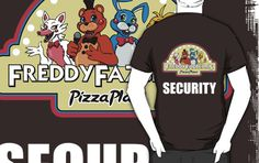 Five Nights at Freddy's 2 Freddy Fazbear's Security Logo by Kaiserin