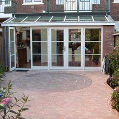 Image result for serre aanbouwen Kitchen Diner Extension, Garage Doors, Outdoor Decor, House, Image, Home Decor, Green Houses, Decoration Home, Home
